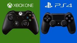 Logo's van Playstation 4 en XBOX ONE