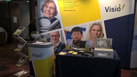 Stand Visio op EMB-congres
